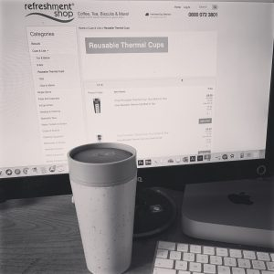 rCUP is the revolution in takeaway coffee cups and it's now available to order on Refreshment Shop!