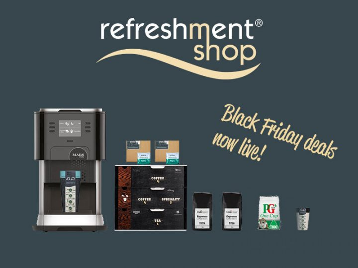 Black Friday deals now live on Refreshment Shop!
