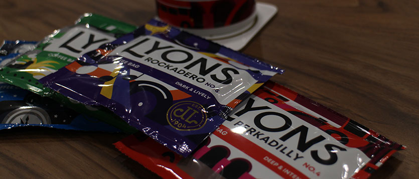 Lyons Coffee Bags are a great choice if you're regularly on-the-go!