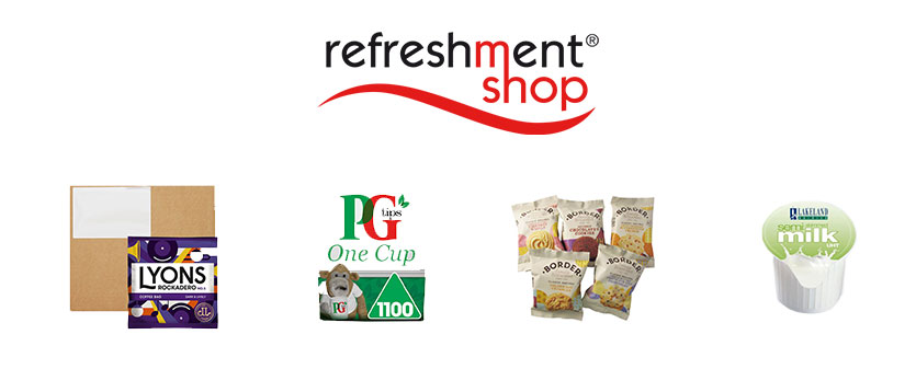 Quality single-serve refreshments from Refreshment Shop!