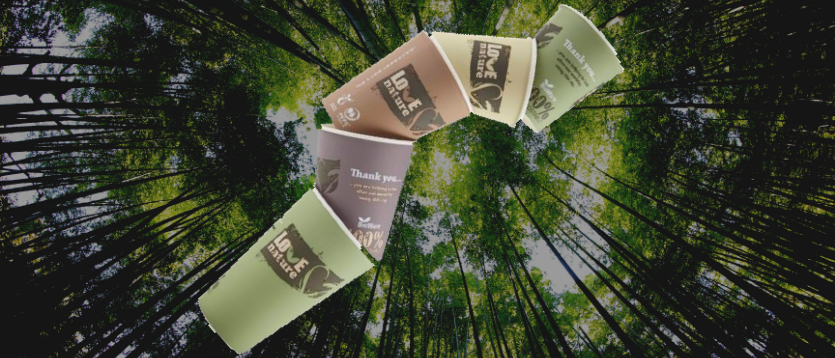 Huhtamaki compostable coffee cups now available on Refreshment Shop!