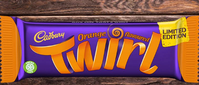 Twirl Orange is now in Refreshment Shop!