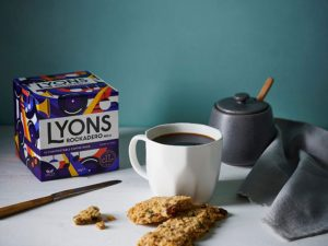 Lyons Coffee bags deliver freshly ground coffee in four enticing varieties.