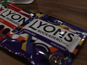 Lyons Coffee bags maximise hygiene.