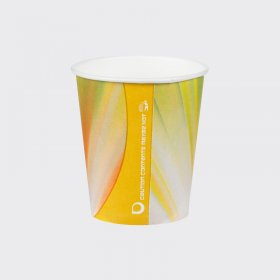 7oz Squat Prism Paper Vending Cups 1000