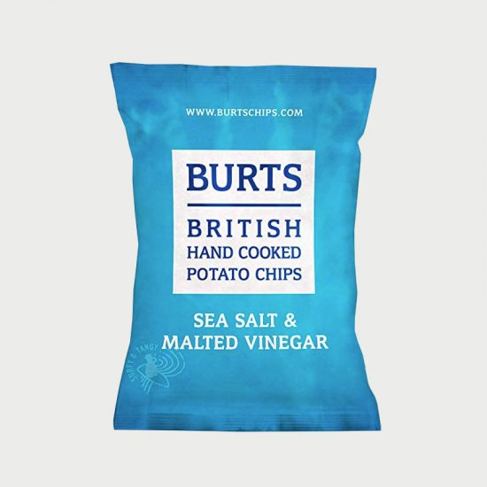 Burts Sea Salt & Vinegar Crisps (20)