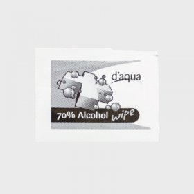D'Aqua 70% Alcohol Antibacterial Wipes (200)
