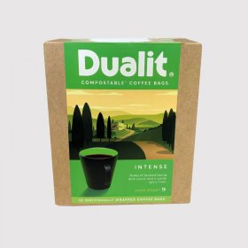 Dualit Dark Roast Intense Coffee Bags x 10