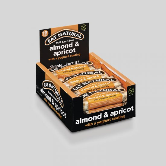 Eat Natural Bars - Apricot, Almond & Yoghurt (12)