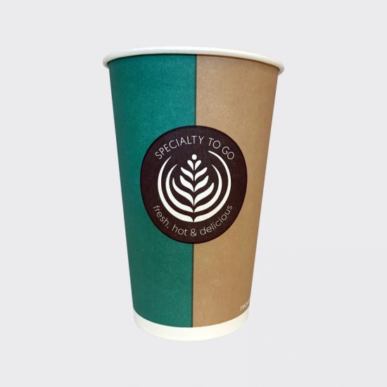 FSW Custom Branded 9oz Paper Cups Special Order Only