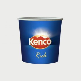 **Short Dated** 76mm Incup - Kenco Really Rich White (375)