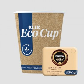 Klix Eco Cup Gold Blend White (360)