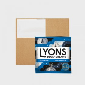 Lyons Coffee Bags Decaffeinated Dreams (150) Bulk Box