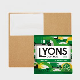 Lyons Coffee Bags No 3 Go Joe (150) Bulk Box
