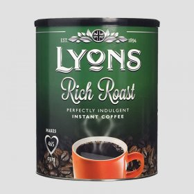 Lyons Rich Roast Coffee Tin 750g