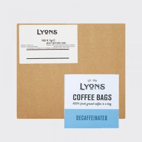 Lyons Coffee Bags Decaffeinated (150) Bulk Box