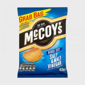Mccoy's Salt and Vinegar Ridge Cut Crisps Grab Bag (36)