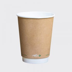 12oz Recup Recyclable Hot Drink Paper Cup (25)
