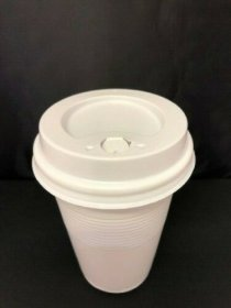 Lids for 9oz tall plastic vending cups (1000)