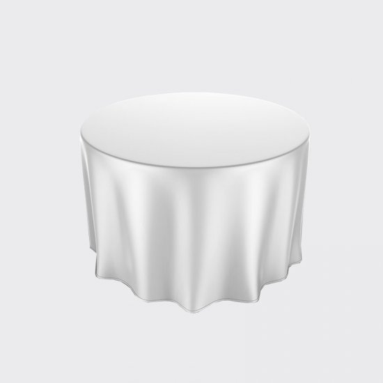 Silver Paper Tablecloths (25)