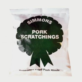 Simmon's Pork Scratchings x 48