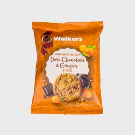 Walkers Dark Chocolate & Ginger Biscuits (60)