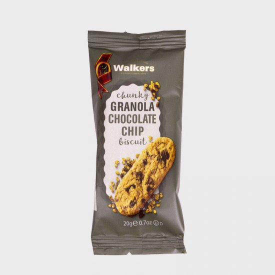 Walkers Chunky Granola Chocolate Chip (60)