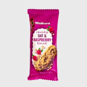 Walkers Chunky Oat & Raspberry Biscuits (60)
