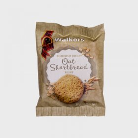 Walkers Oat Shortbread Round (60)