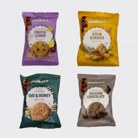 Walkers Luxury Mini Pack Assorted Biscuits (100)