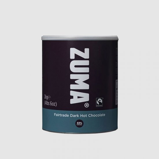Zuma Dark Hot Chocolate 2kg Tins (6)