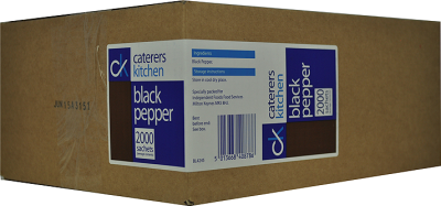 Individual Black Pepper Sachets (2000)