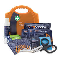 Emergency Burns Kit with Wall Bracket