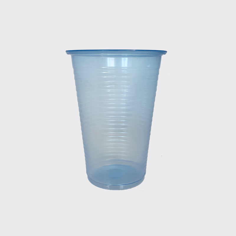 7-8 oz Clear Blue Water Cups (1000)