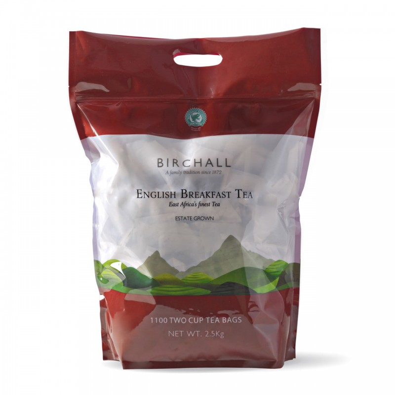Birchalls English Breakfast Tea 1100 2-Cup Bags