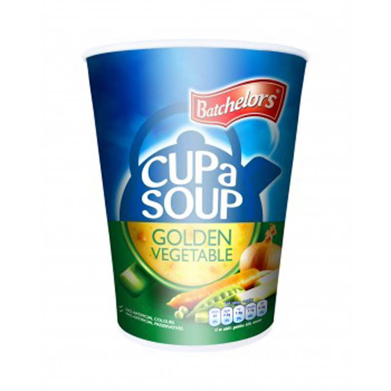 Sealcup Batchelors Golden Vegetable Cup a Soup