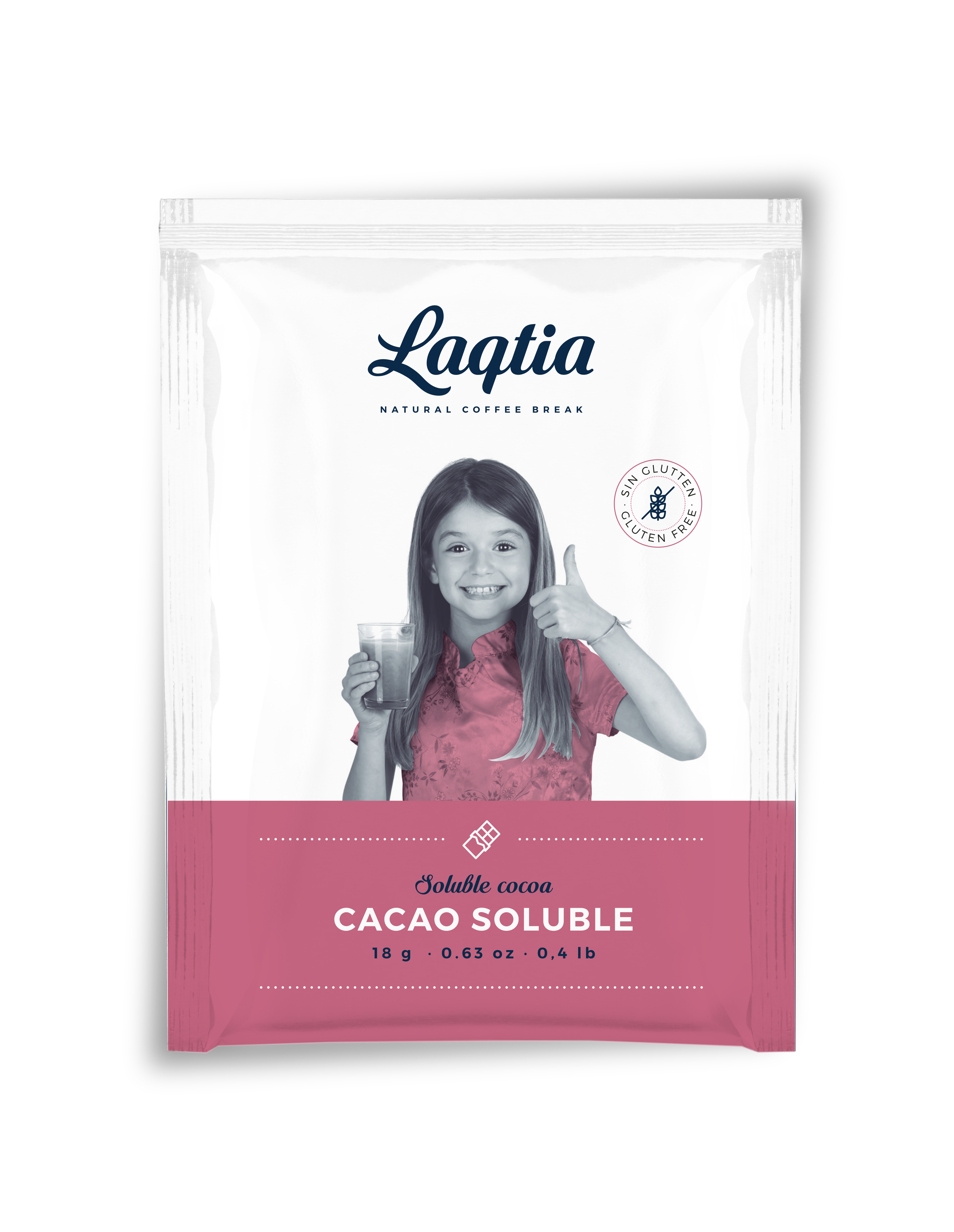Laqtia Instant Hot Chocolate Sachets 18g (25)