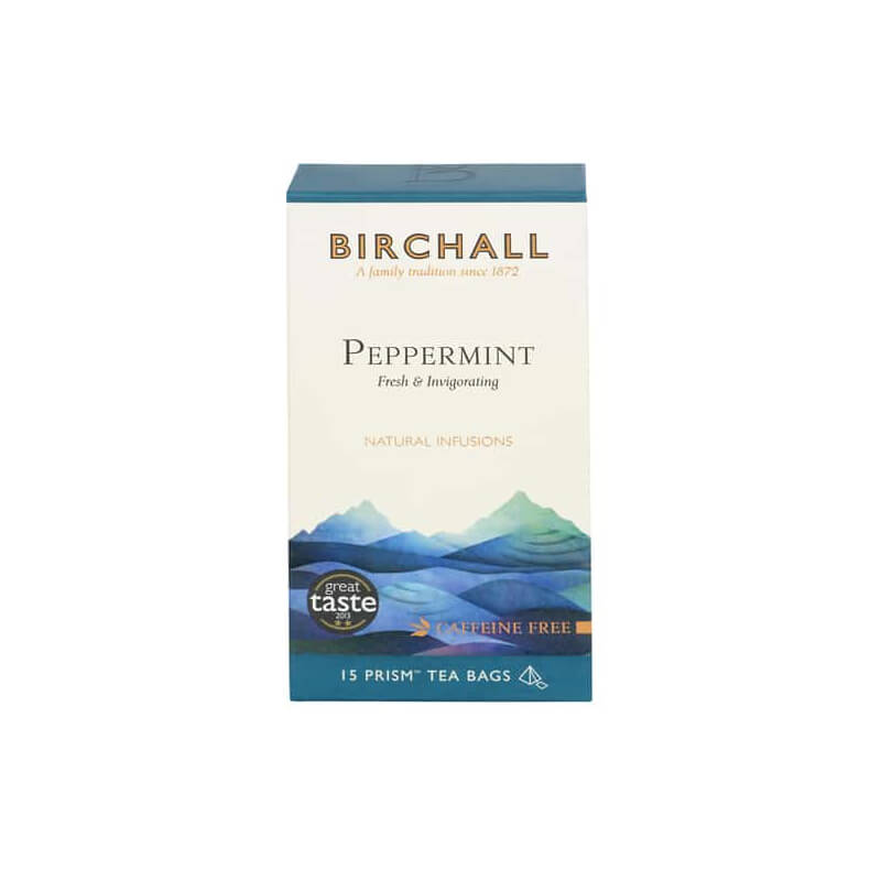 Birchall Peppermint Tea (15 Prism Bags)