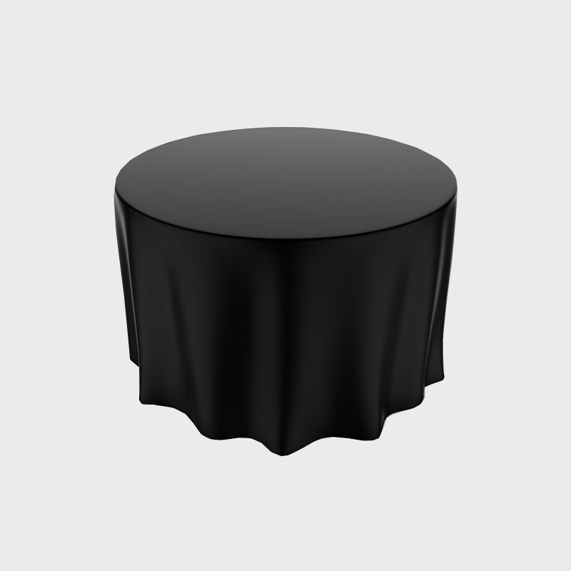 Black Paper Tablecloths (25)