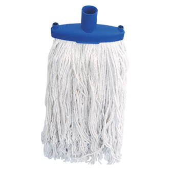 Blue Mop Head