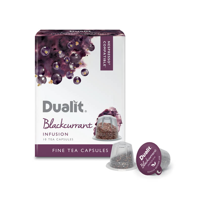 Dualit NX Blackcurrant Infusion Tea (10)