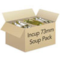 73mm Incup - Soup Mixed Pack