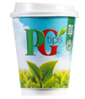 76mm Incup - PG Tips White Tea (375)