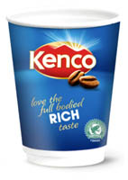 Kenco Drinks2Go Rich Roast Coffee - White (160 Per Pack)