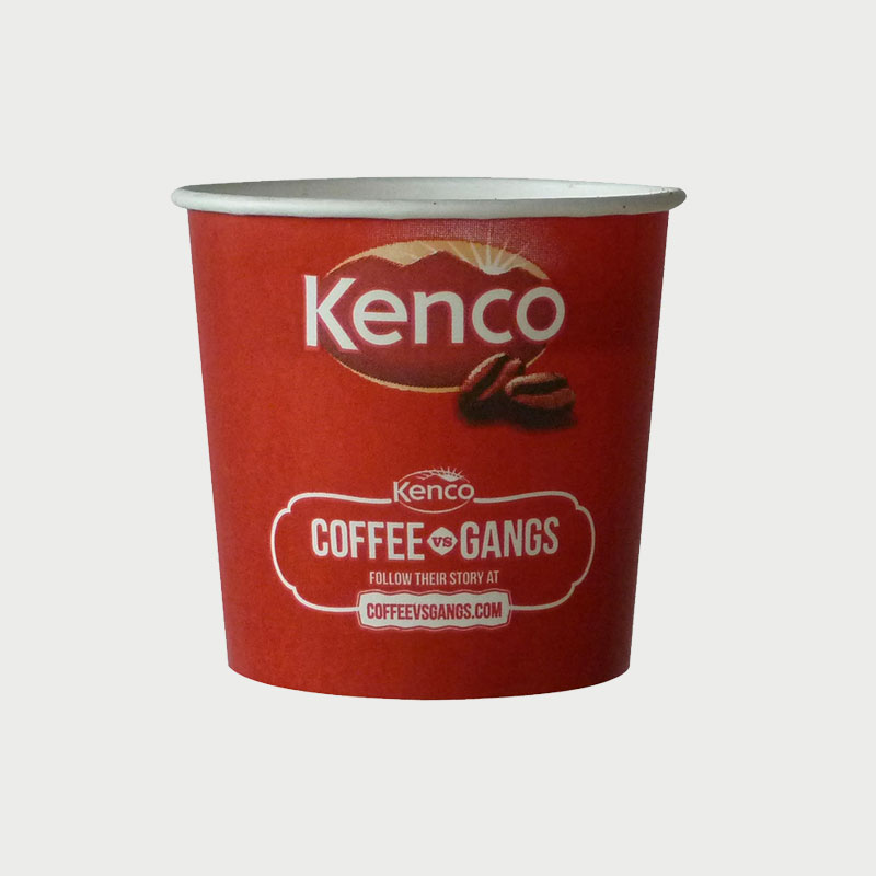 76mm Incup - Kenco Decaffeinated White (375)