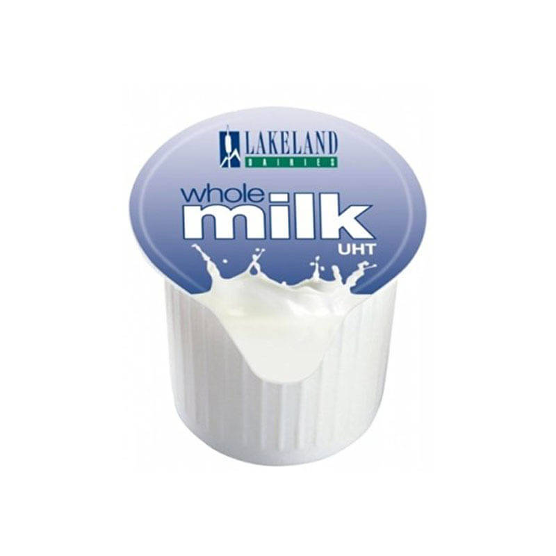 UHT Whole Milk Pots (120)
