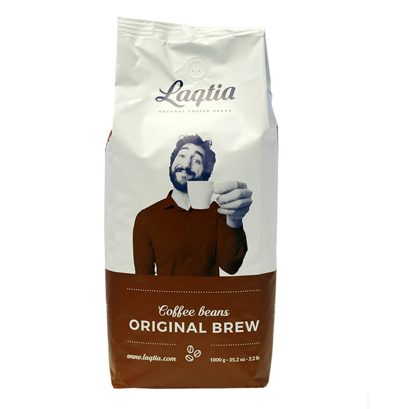 Laqtia Golden Blend Coffee Beans 1kg (6)