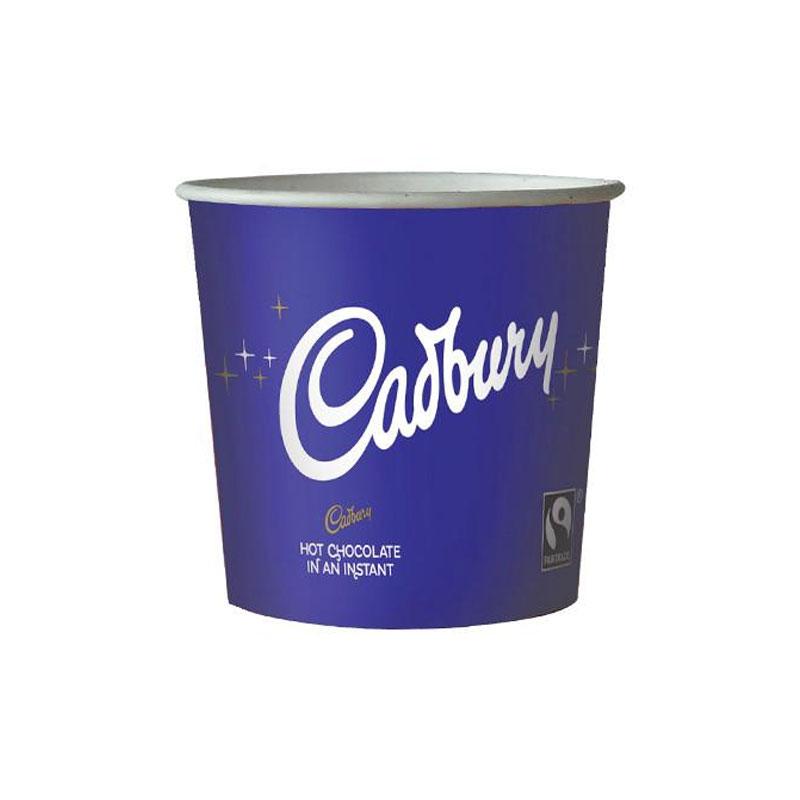 76mm Incup Cadburys Hot Chocolate 375