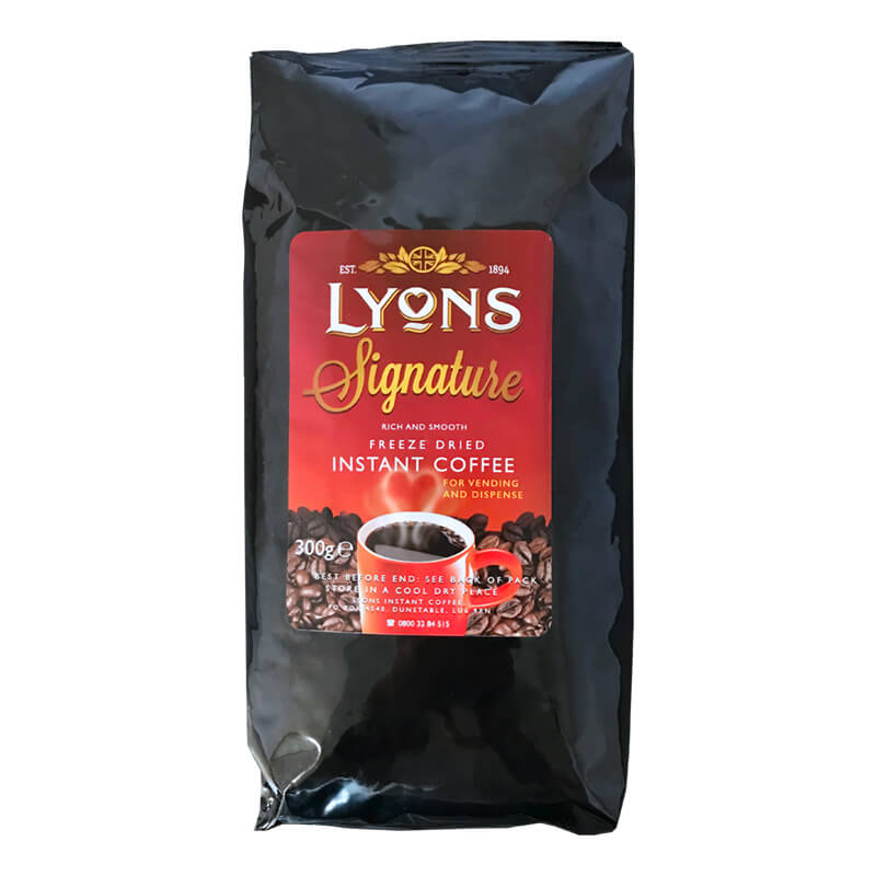 Lyons Signature Instant Vending Coffee 300g (10)