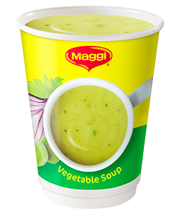 how to make maggi vegetable soup
